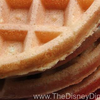 Disney World and Disneyland Waffles Recipe