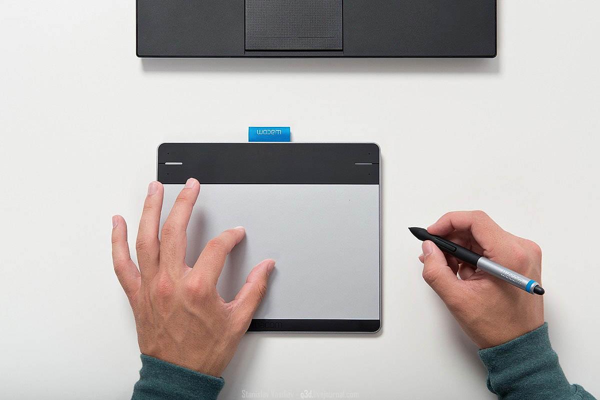 Wacom Intuos Pen & Touch: обзор и тест графического планшета