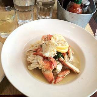 Garlic White Wine Dungeness Crab