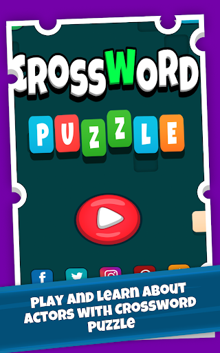 Actors Crossword Puzzle Game, Guess Hollywood Name  screenshots 9