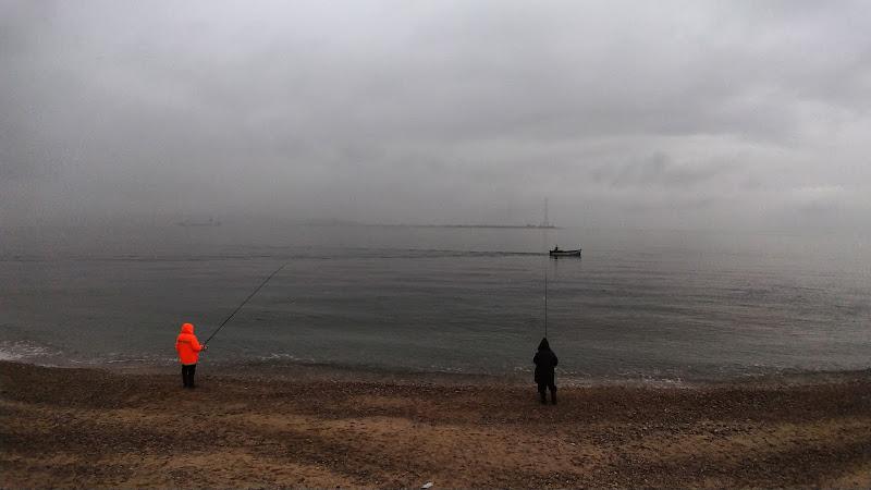 Una mattina di nebbia sullo stretto di Fiorenza Aldo Photo