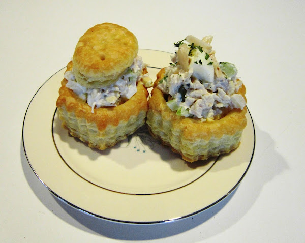 Old Fashioned Chicken Salad In Puff Pastry Shells Recipe