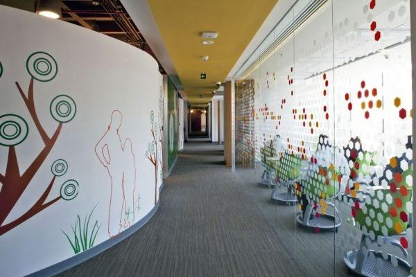 Hallway Wall Decor Ideas Using Peel-and-Stick Decals