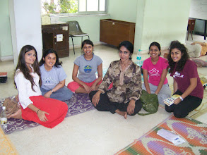 Photo: 1 Month YTT Course - Jeenal Mehta with students of batch of June 2008.