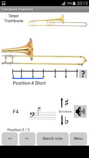 Trombone Positions