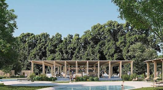 Imagen de uno de los campings del nuevo modelo sostenible