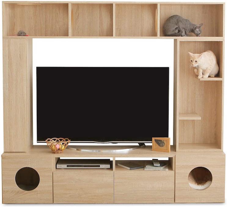 LOWYA ロウヤ 猫 家具 TVボード