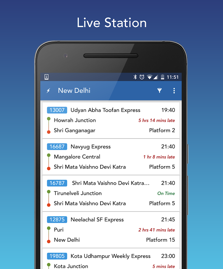 Where is my Train : Indian Railway & PNR Status- screenshot