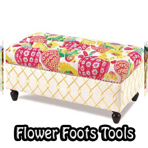 Flower Footstool