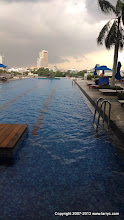 Photo: Infinity pool at our hotel.