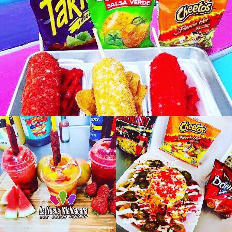 La Nueva Michoacana Ice Cream Parlor Ice Cream Shop In Grand Prairie