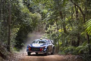 Hyundai finaliza el 2017 con victoria y doble podio en el Rallye de Australia