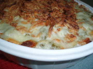 Cheezy Green Bean Casserole Recipe