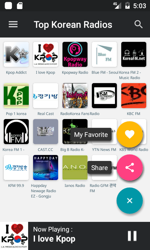 Top FM Radio Korea-South Korea- screenshot