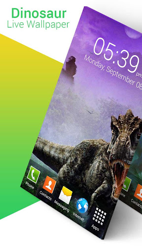 Dinosaur Live Wallpaper screenshot 5