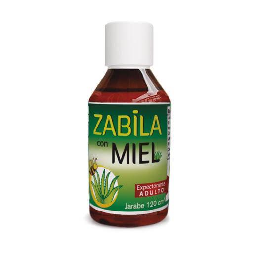 Zabila C/Miel 120Ml Jarabe FC Pharma Extracto Jengibre+Miel