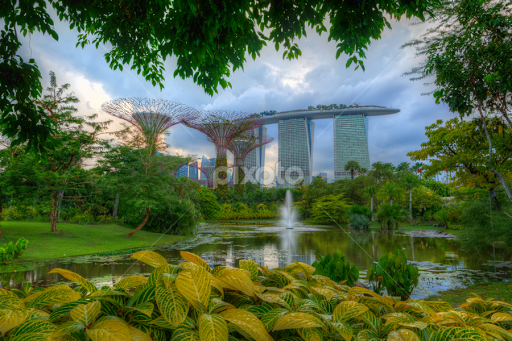 Garden By The Bay Water Park gardensthe bay | city parks | city, street & park | pixoto