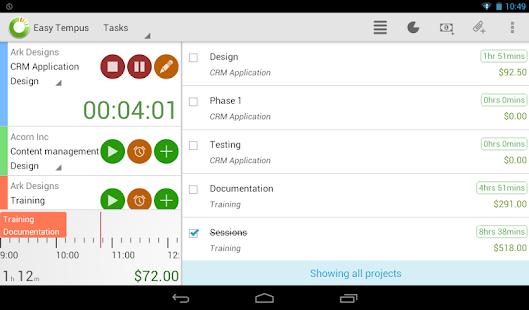 Timesheets and Invoicing - screenshot thumbnail