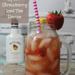 Spiked Strawberry Iced Tea.