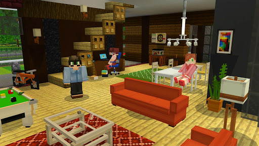 Furniture Mod for Minecraft PE 1.1 screenshots 1