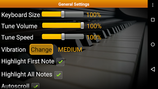Piano Melody Free- screenshot thumbnail