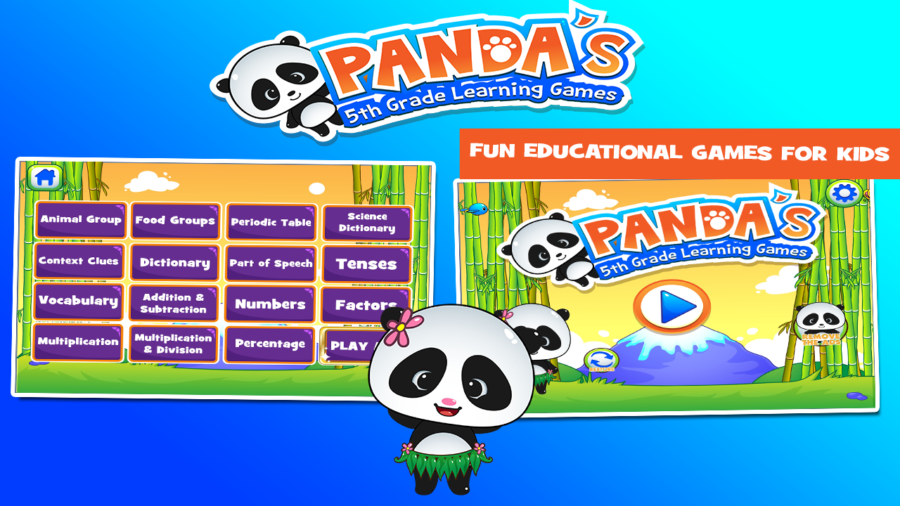 Worksheet Learning Sites For 5th Graders panda 5th grade learning games android apps on google play screenshot