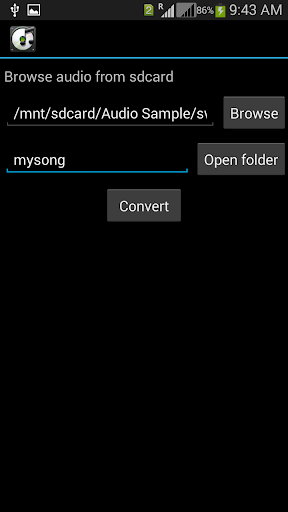 AAC to MP3 Audio