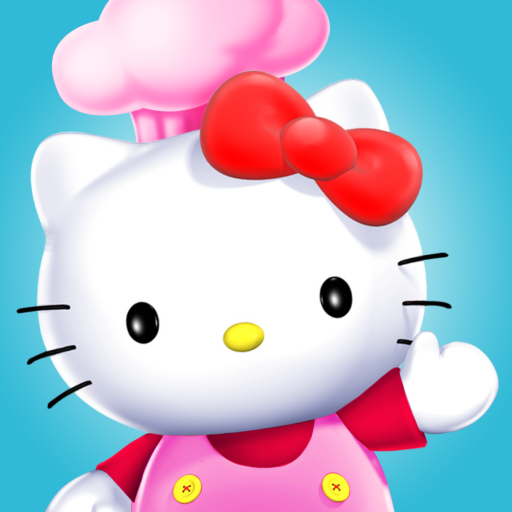 Hello Kitty Food Town Spel (APK) gratis nedladdning för Android/PC/Windows
