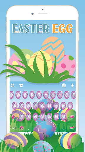 Easter Eggs Keyboard Theme ss1