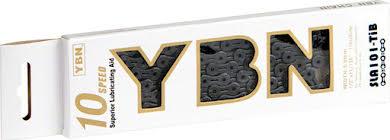 YBN Ti-Nitride Black 10-speed Chain, 116 Links alternate image 0