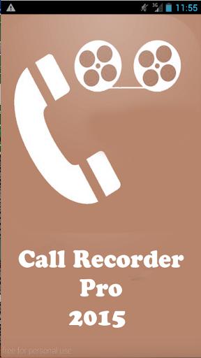 Galaxy Call Recorder Pro 2015
