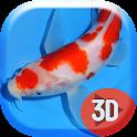 Milky Red Koi Fish Live Wallp icon