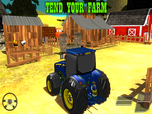 Farming Game - Tractor Driver