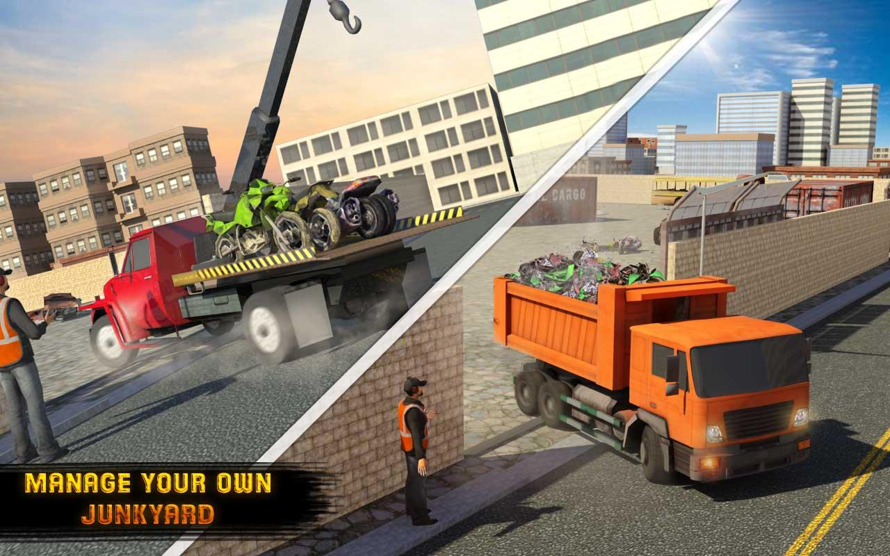 Old Car Junkyard Simulator: Tow Truck Loader Games - Android Apps ...