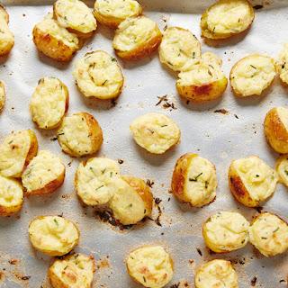 Twice-Baked Mini Potatoes.