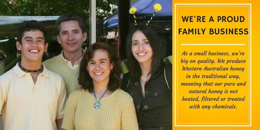 we're a proud honey family business