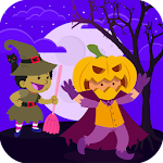 Pretend Halloween Play & Learning Game for Kids Icon