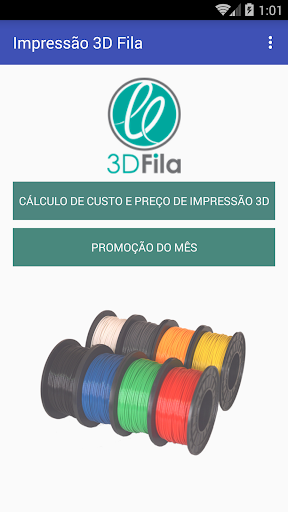 Impressão 3D Fila