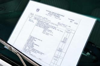 Photo: Dr. Eldredge's Bill of Sale