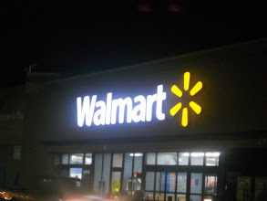 Photo: Shopping at Walmart anytime works for me, this store isn't open 24 hours, but it is open late enough for us. This project has been compensated as part of a social shopper insights study for Elmer's #gluenglitter #collectivebias #CBias all opinions and ideas are that of the writer.