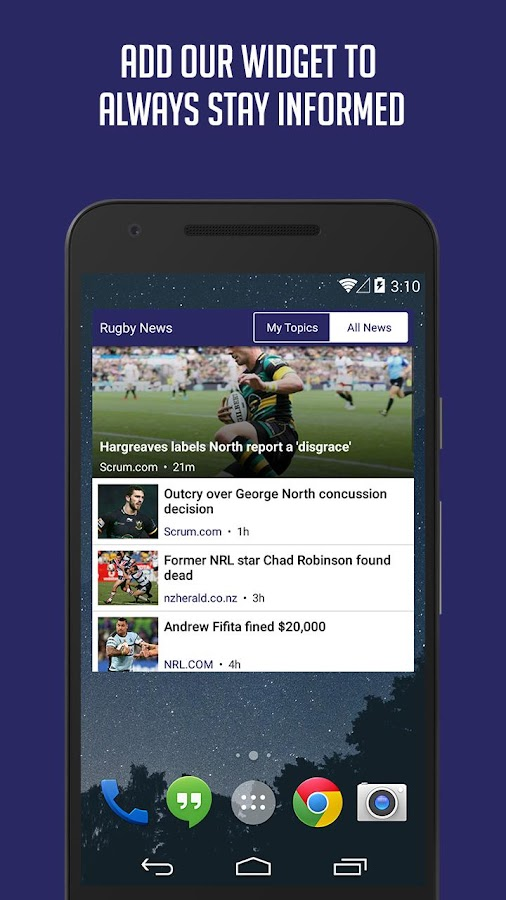 Rugby News & Live Scores - SF- screenshot