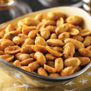 Spicy Roasted Peanuts.