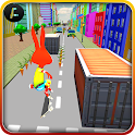 Bunny Skateboard Runner 3D icon