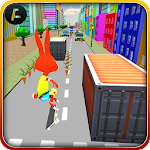 Bunny Skater board Runner 3D? Icon