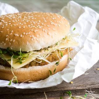 Chickpea Veggie Burgers.