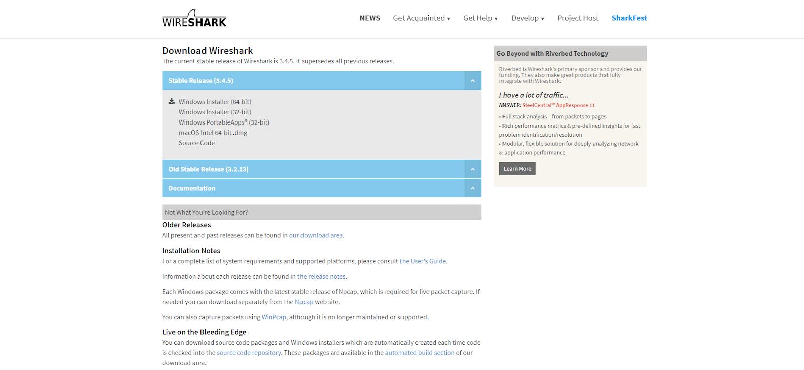 Wireshark Network Monitoring Tool
