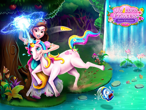Unicorn Princess 3 –Save Baby Unicorn Game Screenshot