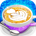 Glitter Coffee - Make The Most Trendy Food icon