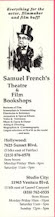 Photo: Samuel French's Theatre and Film Bookshops