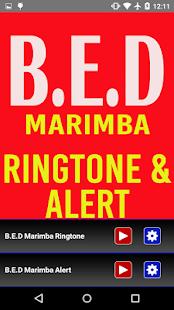 B.E.D. Marimba Ringtone Alert - náhled